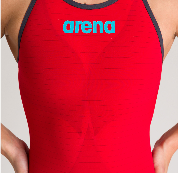 Arena Powerskin Carbon Air2 FBSLCB Red