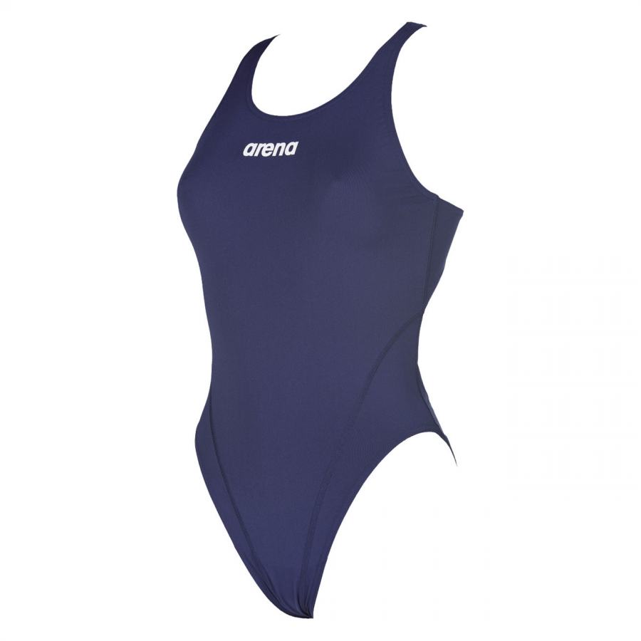 Arena Solid Swim Tech High Navy