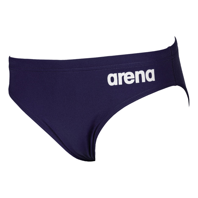Arena Solid Brief Navy