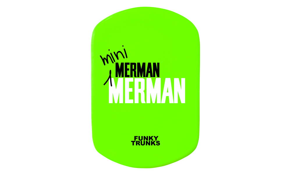 Funky Trunks Merman Mini Kickboard