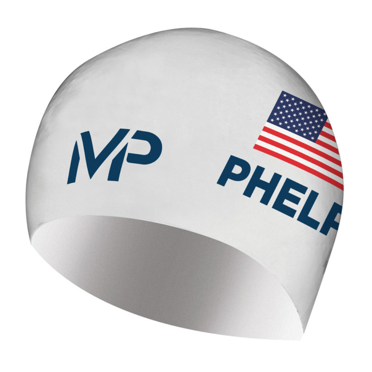 Michael Phelps Race Cap Limited edition White