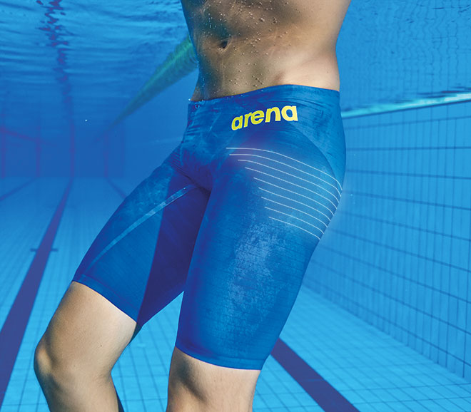 Arena Carbon Air2 Jammer Blue