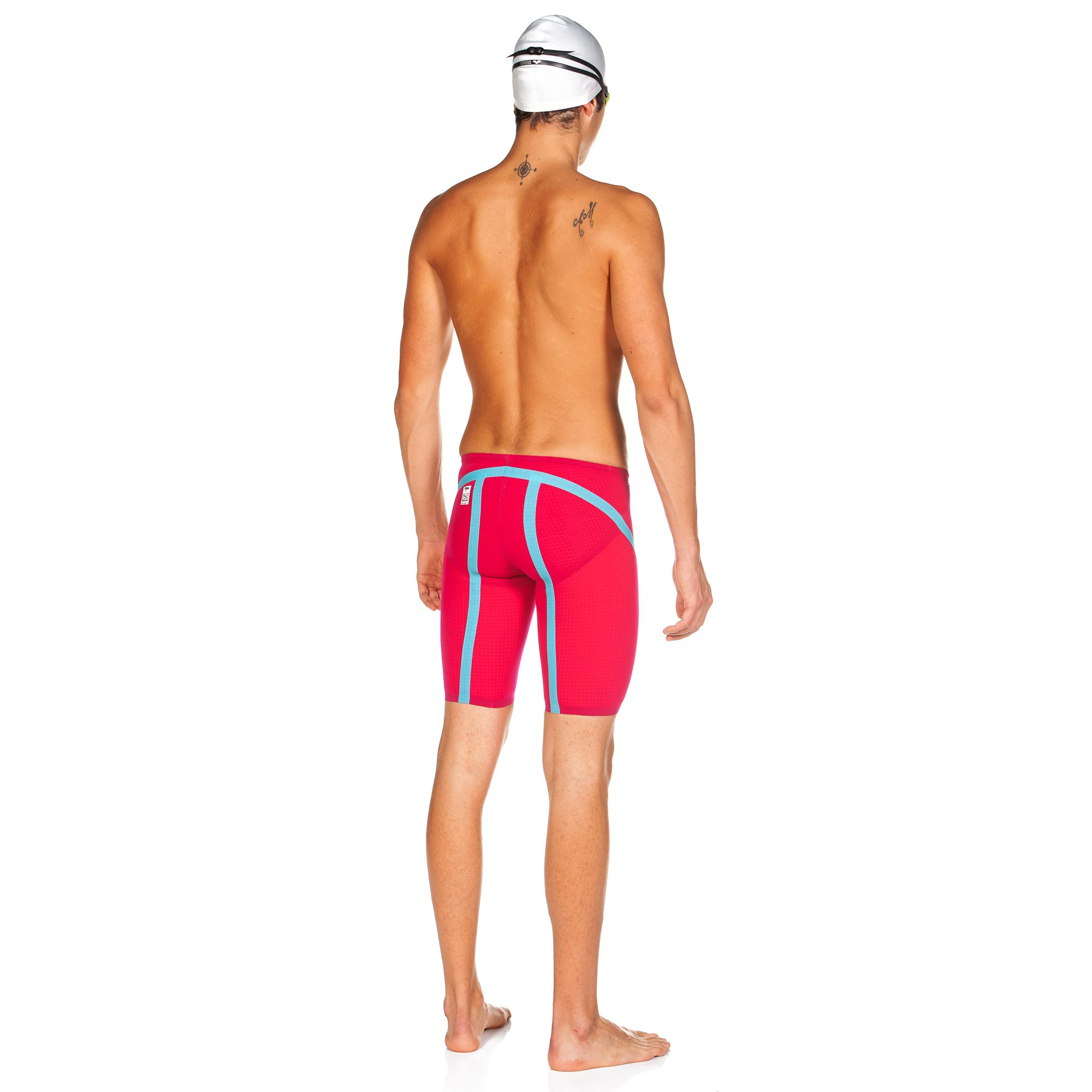 Arena Powerskin Carbon Flex Jammer Fluo Red
