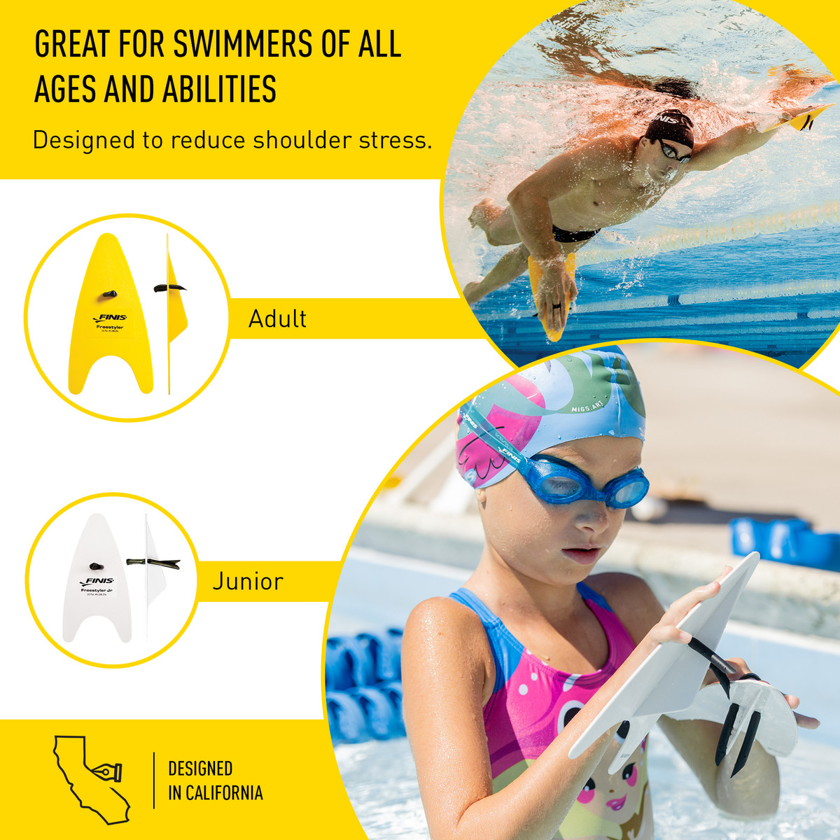 Finis Freestyler Paddles Junior