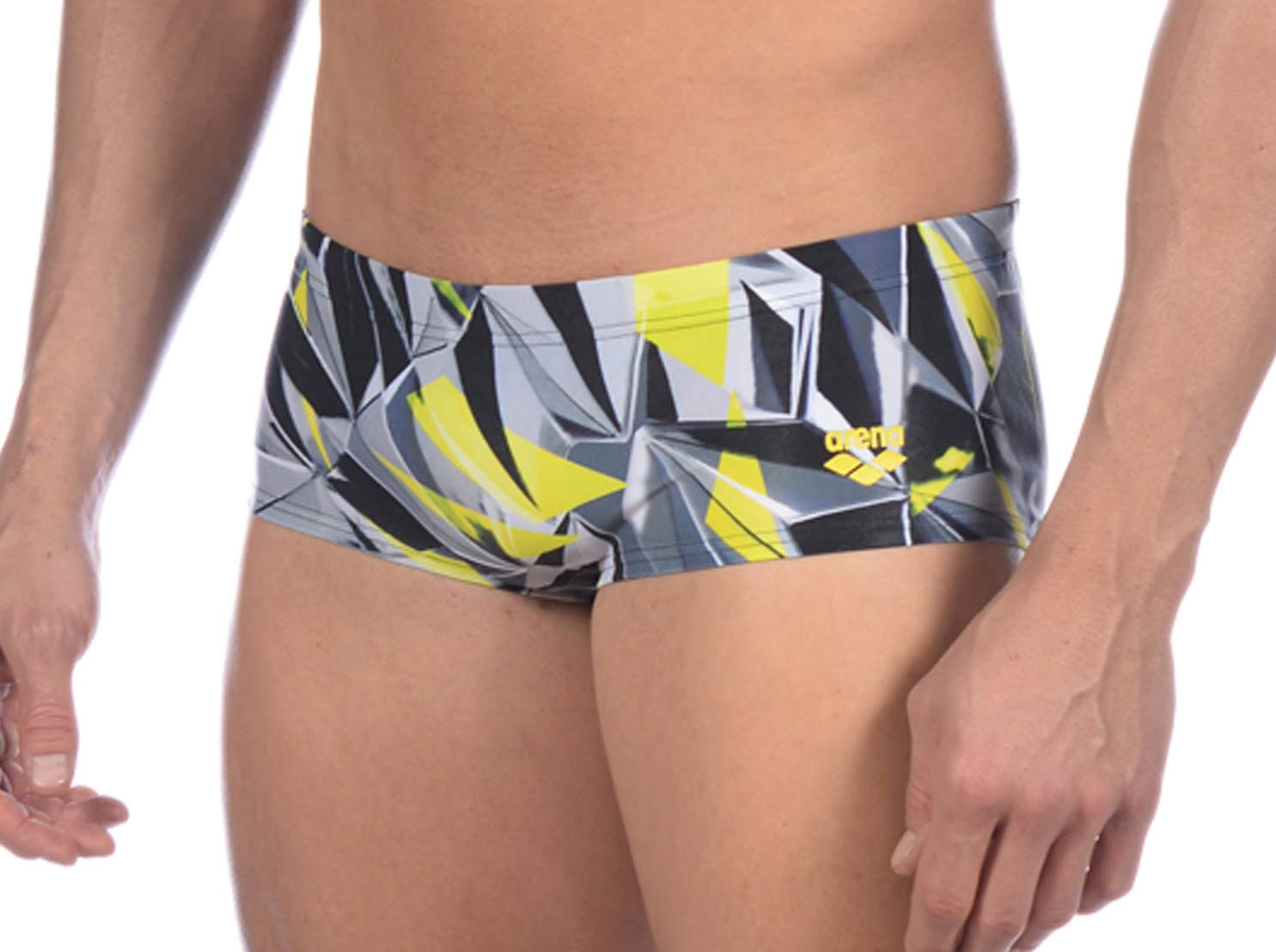 Arena One 3D Shattered Low Waist Short