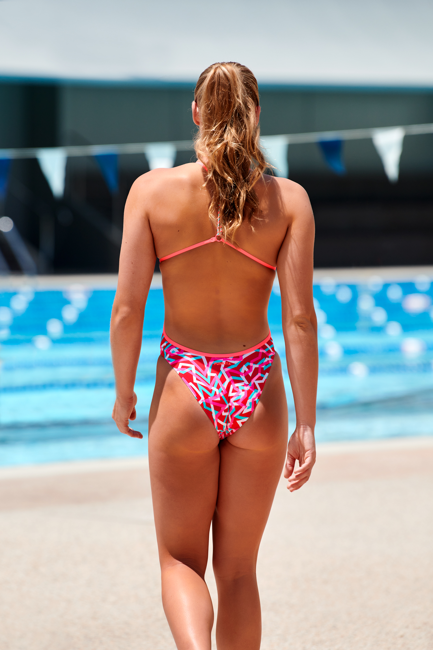 Funkita Red Ribbons Twisten One Piece