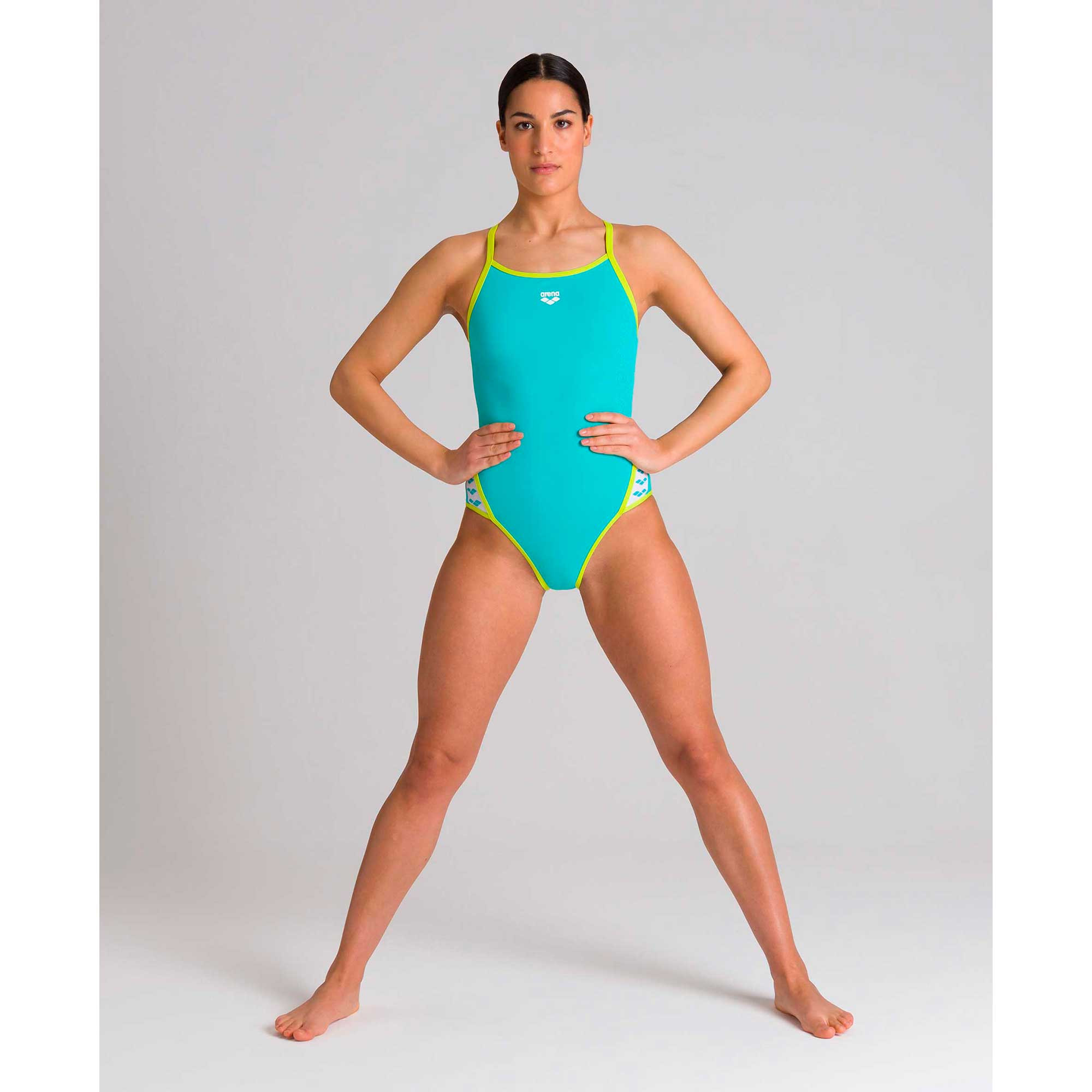 Arena Team Stripe Super Fly Back one piece