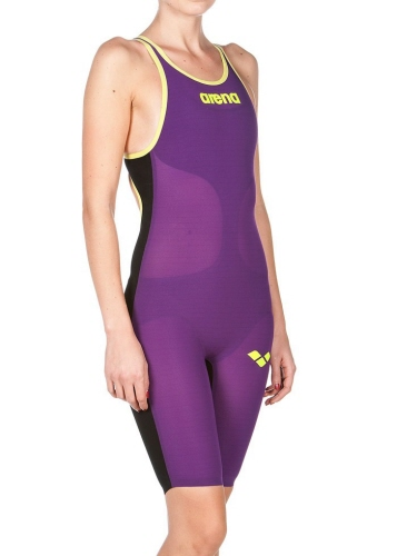 Arena Carbon Air Woman Plum Close Back