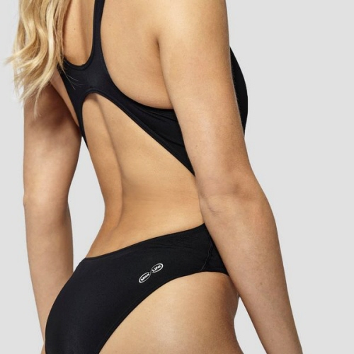 Arena Solid Swim Tech High Black