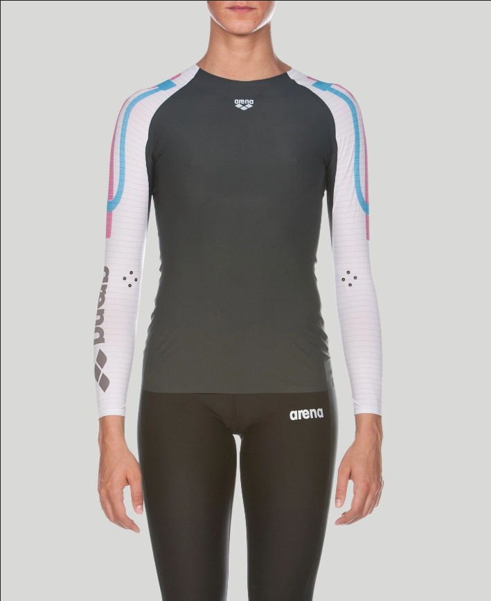 Arena Carbon Compression Long Sleeve W