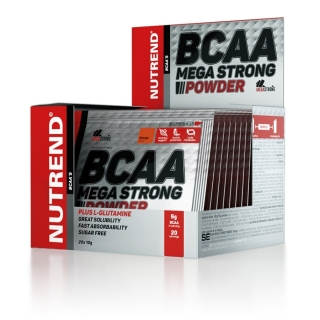 Nutrend BCAA Mega Strong Powder 20x 10g