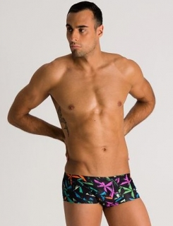 Arena Multicolor Palms Low Waist Short