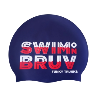 Funky Trunks Swim On Bruv  Cap