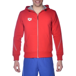 Arena TL Hooded Jacket Red