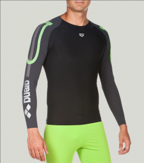 Arena Carbon Compression Long Sleeve M