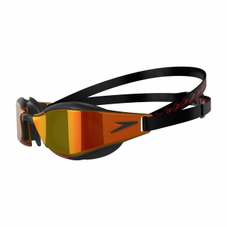 Speedo Fastskin Hyper Elite Mirror Black/Fire Gold